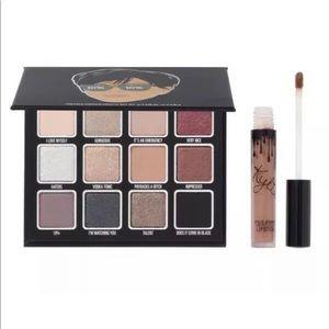 Kylie Jenner Kris Pressed Powder Eye Shadow Palett